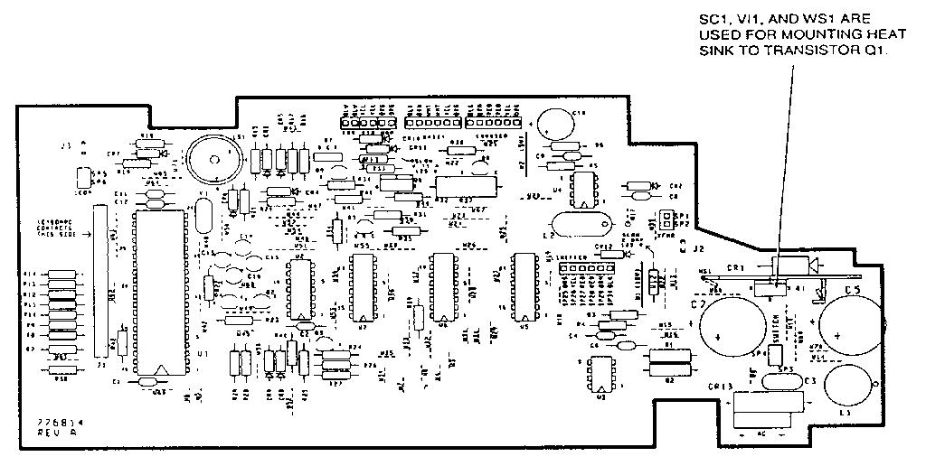 Smith-Corona model DEVILLE 470 (5AKL) typewriter genuine parts