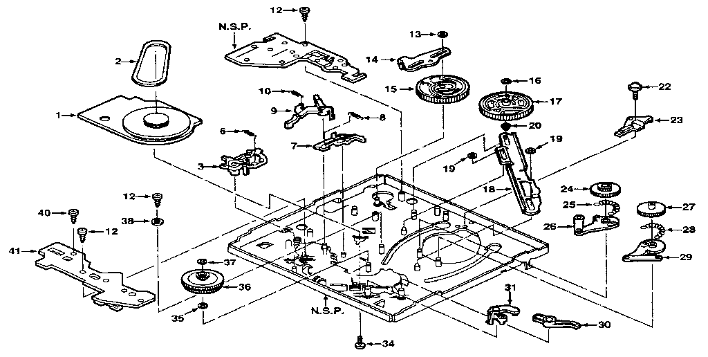 Jandy-Lxi model 53574 vcr genuine parts