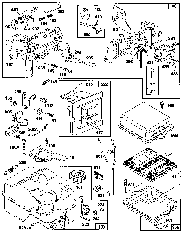 Briggs And Stratton 135202 Diagram Related Keywords