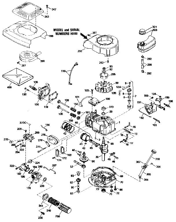 Carburetor Main Jet Location, Carburetor, Free Engine