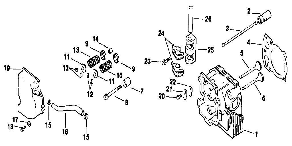 Kohler model CV14S-1451 engine genuine parts
