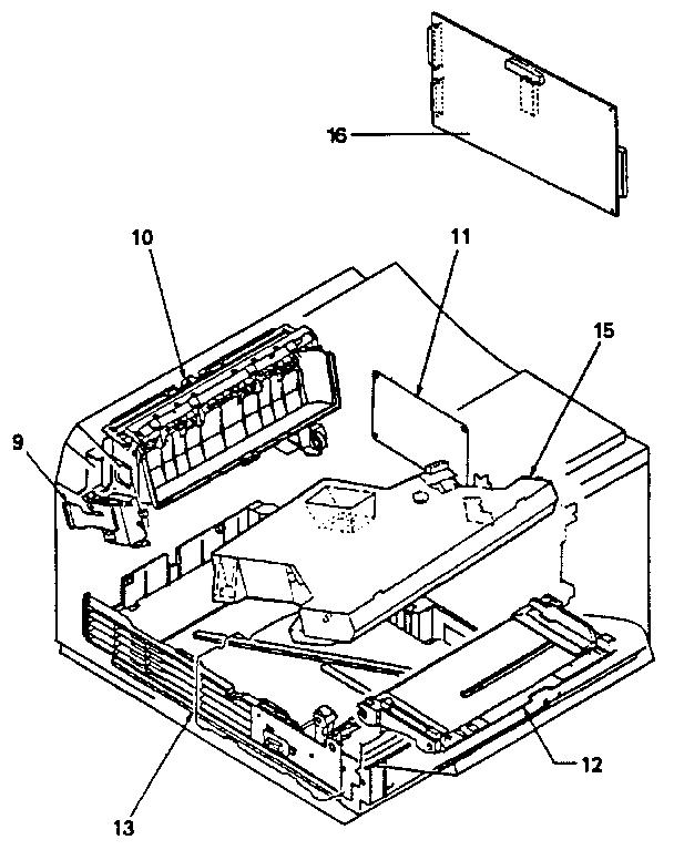 Hewlett-Packard model LASER JET 4 computer/printer genuine