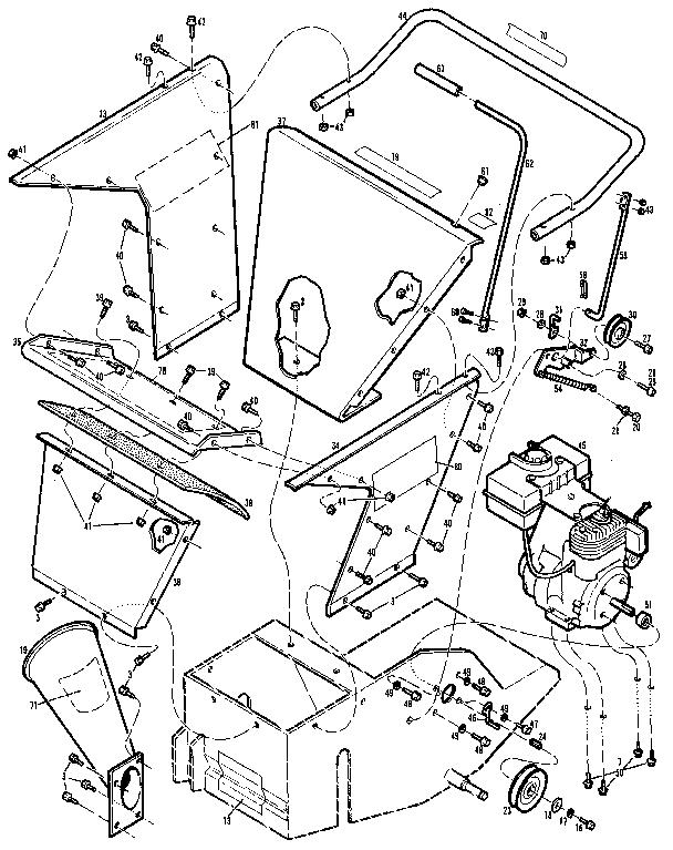 Ww-Grinder model 47017(470170100101-470170199999) chipper