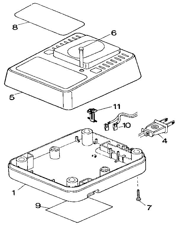 Dewalt model DW9104 battery charger genuine parts