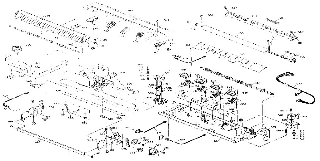 Epson model AP4500 computer/printer genuine parts