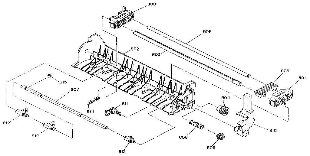 Epson model AP2250 computer/printer genuine parts