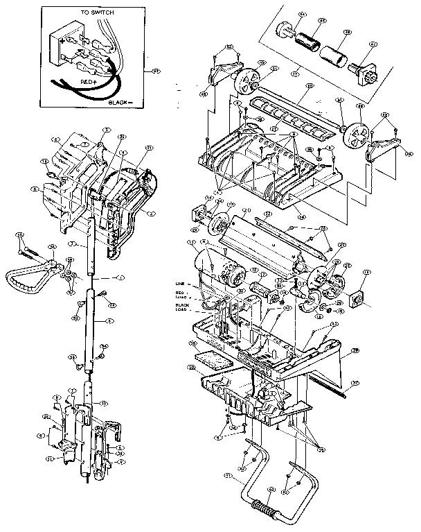 Craftsman model 536882020 snowthrower, electric genuine parts