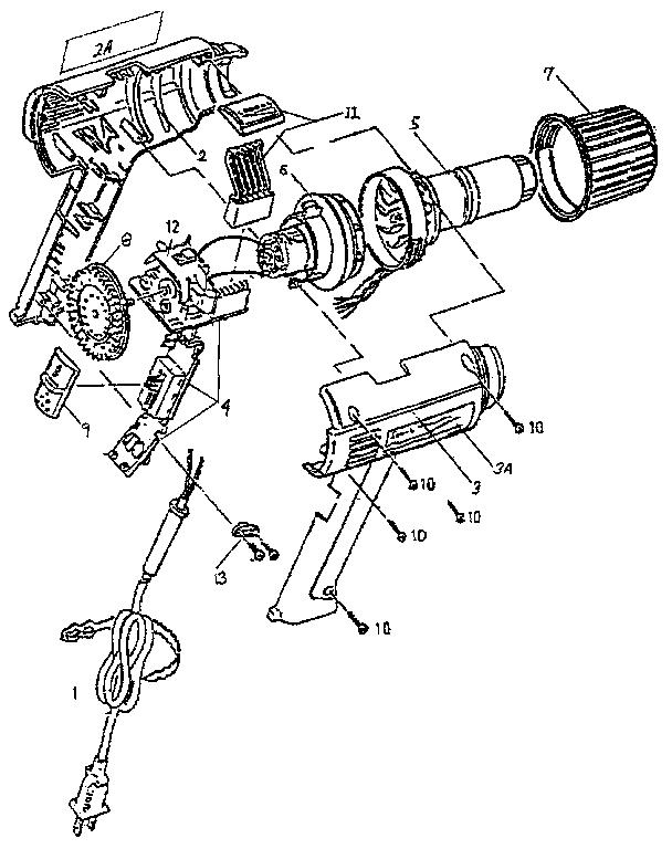Steinel model 278010 heat gun genuine parts
