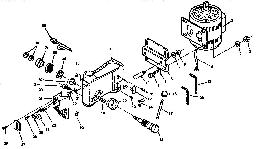 Craftsman model 113213091 drill press genuine parts