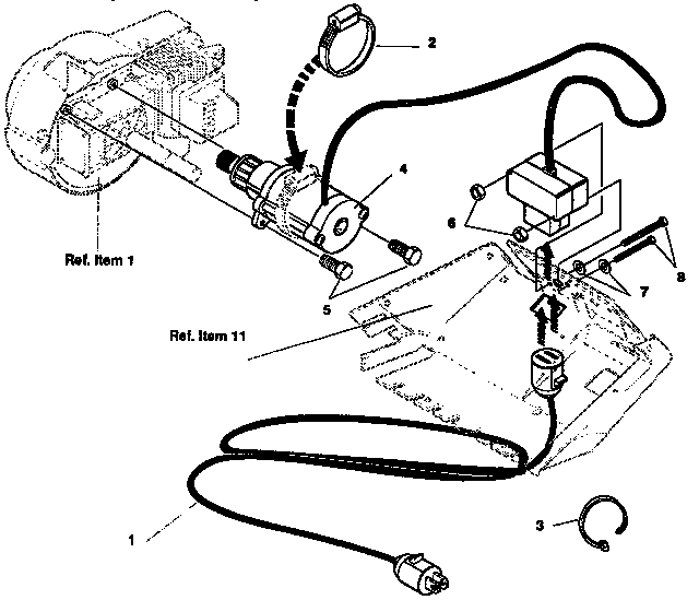 White Snowblower Parts Diagram Troy-Bilt Parts Diagram