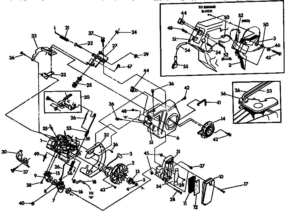 Generac model 3500XL generator genuine parts