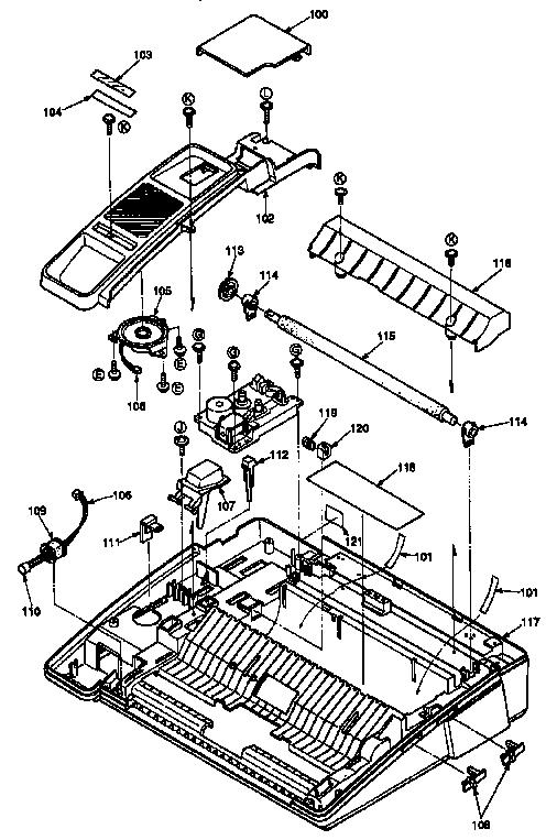 Panasonic model KX-F150 fax machines genuine parts