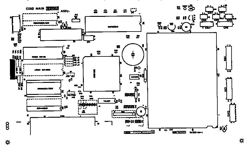 Epson model LQ-570+ computer/printer genuine parts