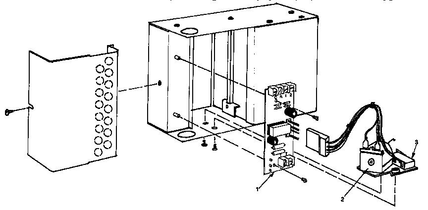 Yukon model KLONDIKE furnace/heater, oil genuine parts