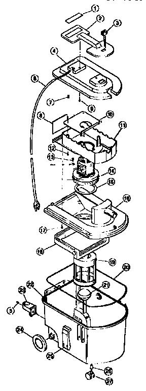 Bissell model 1631 power steamer genuine parts