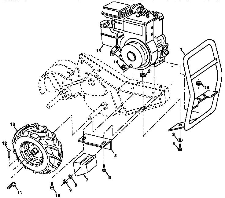 Craftsman model 917298561 front tine, gas tiller genuine parts