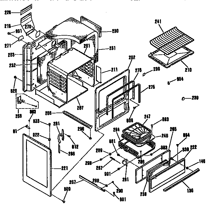 Kenmore model 9116108912 range (gas) genuine parts