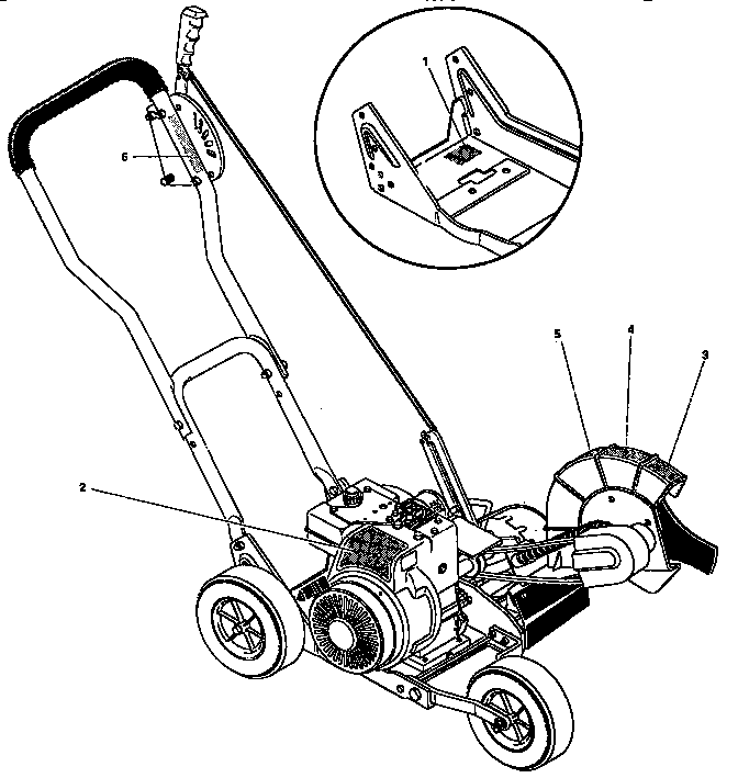 Craftsman model 536797590 edger genuine parts