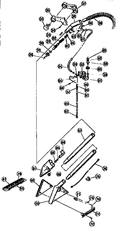 Bissell model 1631-1 power steamer genuine parts