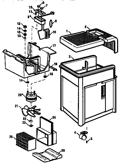 Kenmore model 758148080 humidifier genuine parts