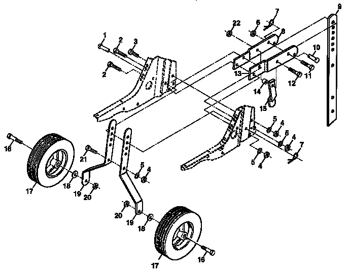 Craftsman model 917295351 front tine, gas tiller genuine parts
