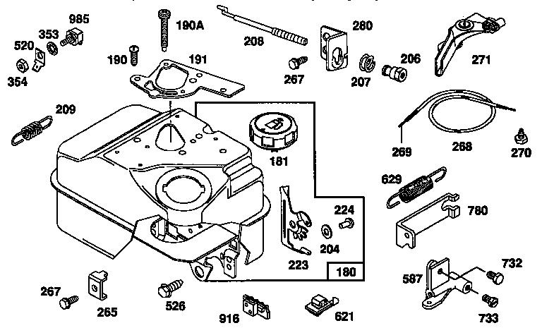 Briggs And Stratton Carburetor Model Location, Briggs