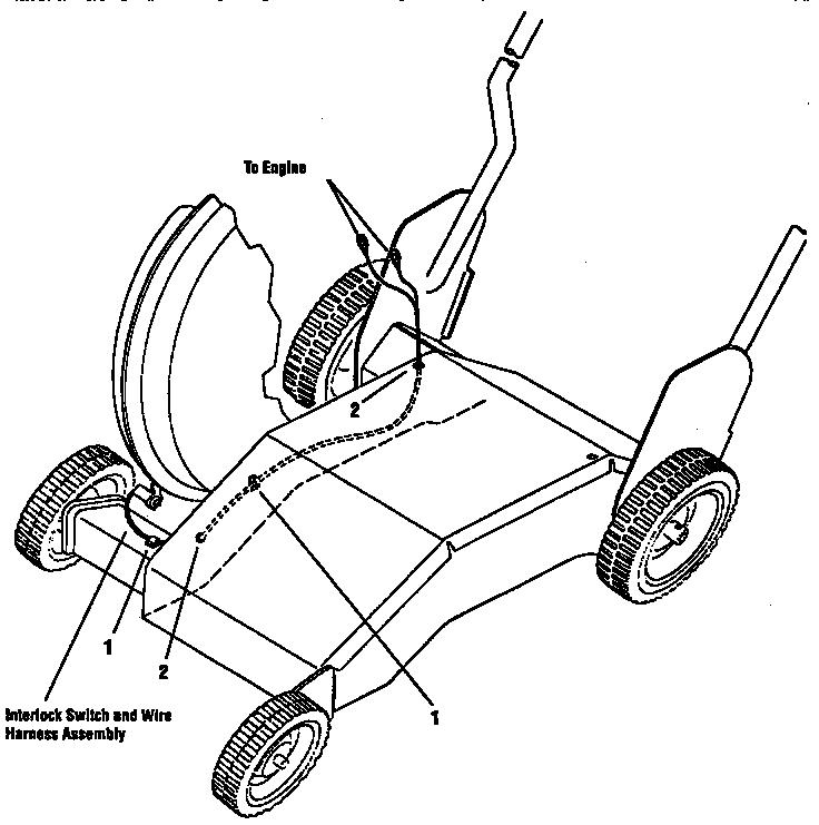 Troybilt model 47282 chipper shredder/vacuum, gas genuine