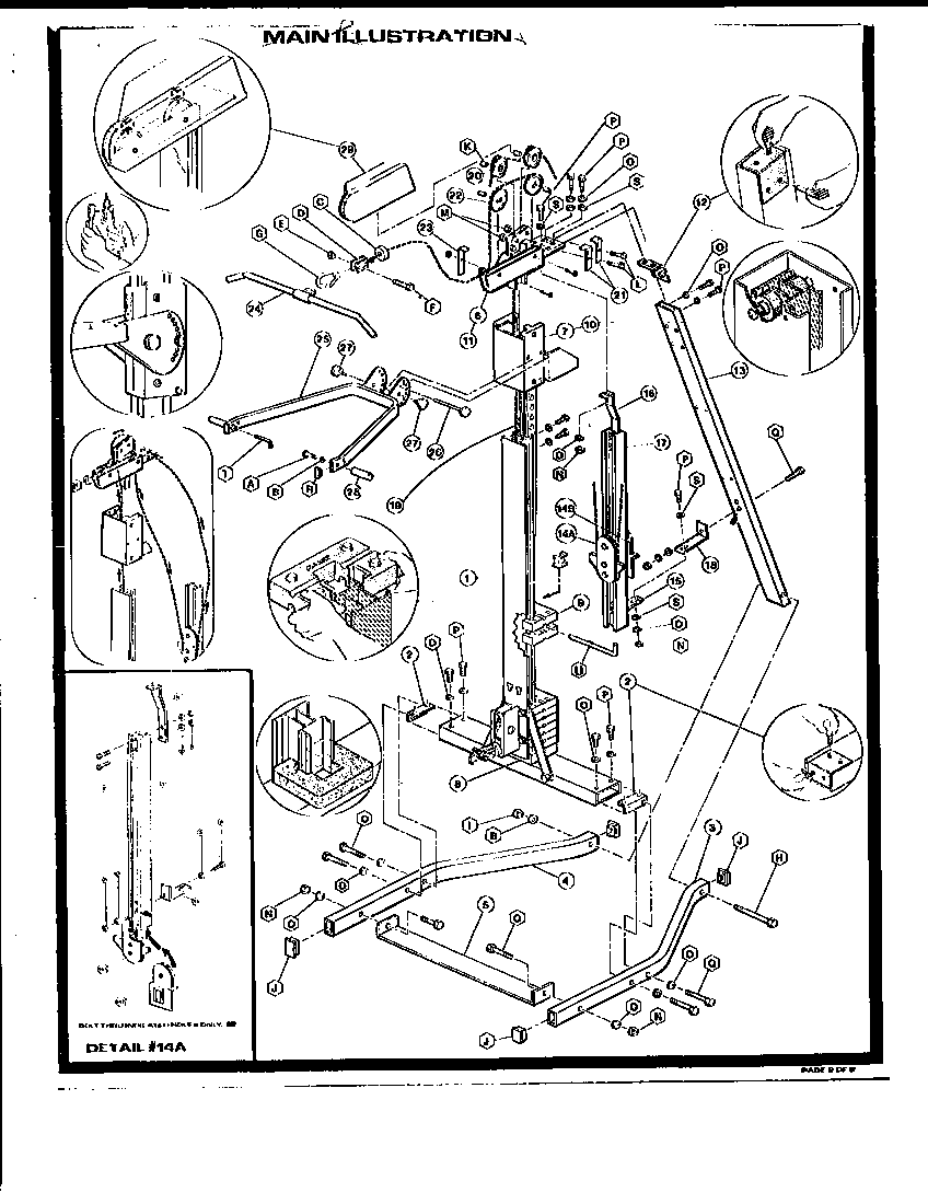 Marcy model 15611 weight system genuine parts
