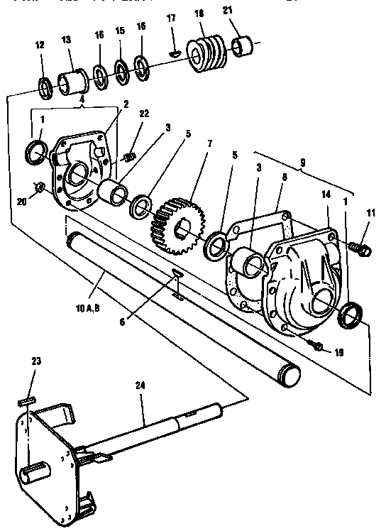 Craftsman Snowblower Model C950 Manual