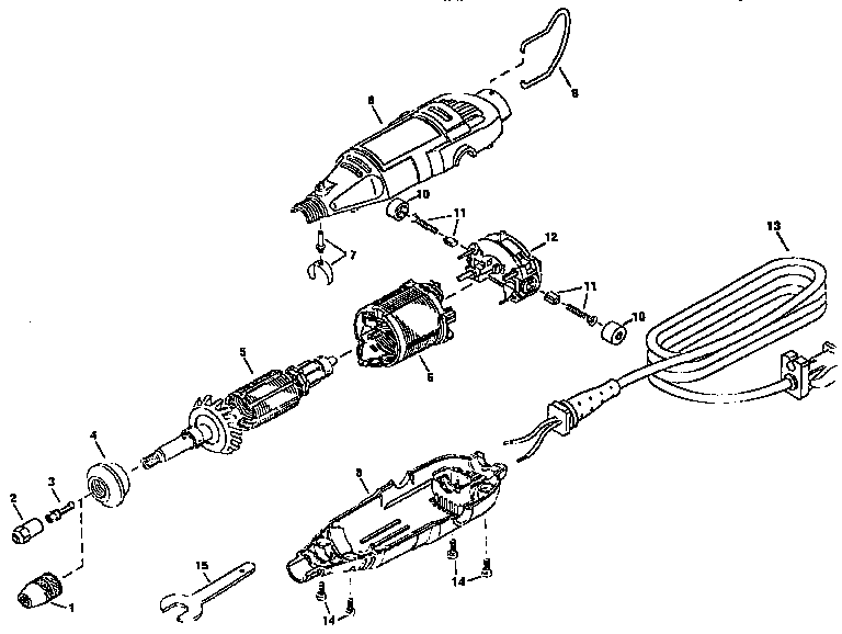 Dremel model 395-4 multi-tool genuine parts
