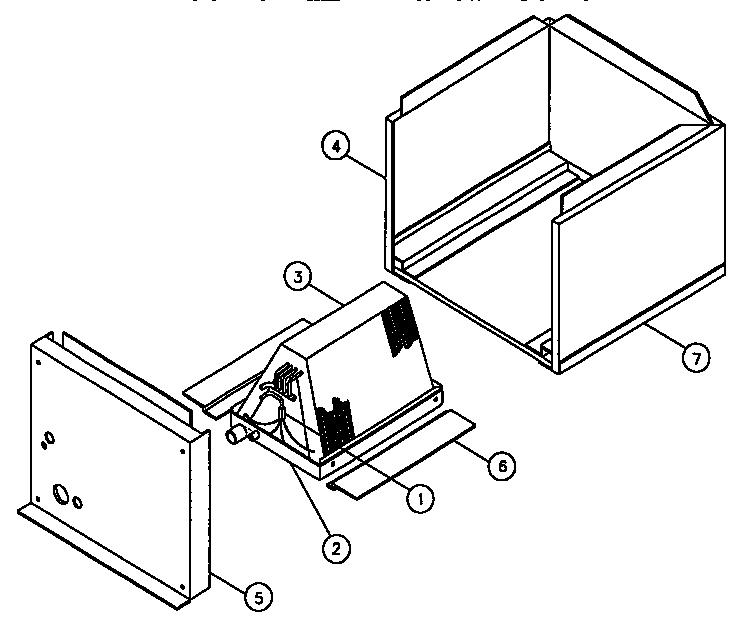 Goodman model UC-36 evaporator coils genuine parts