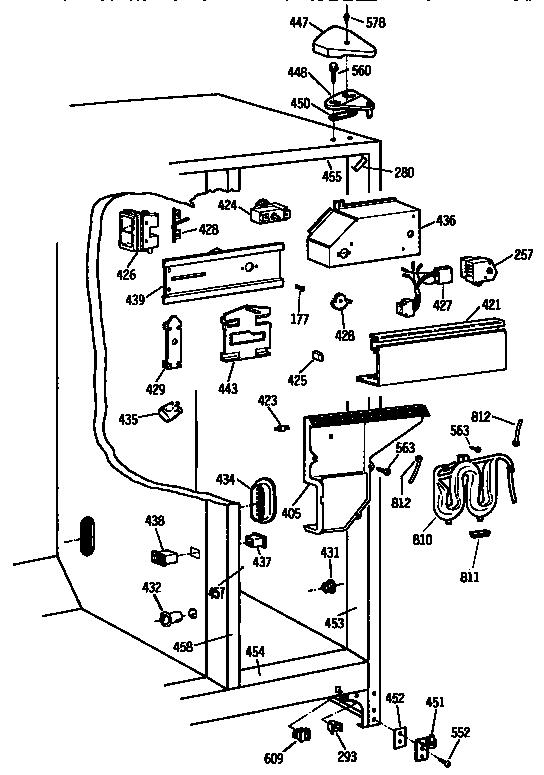 Kenmore model 3639544313 refrigerators-misc genuine parts