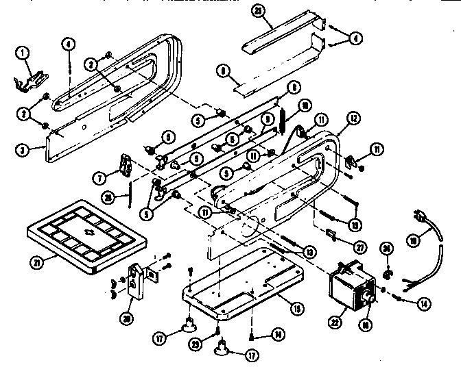 Dremel model 1571 saw scroll genuine parts