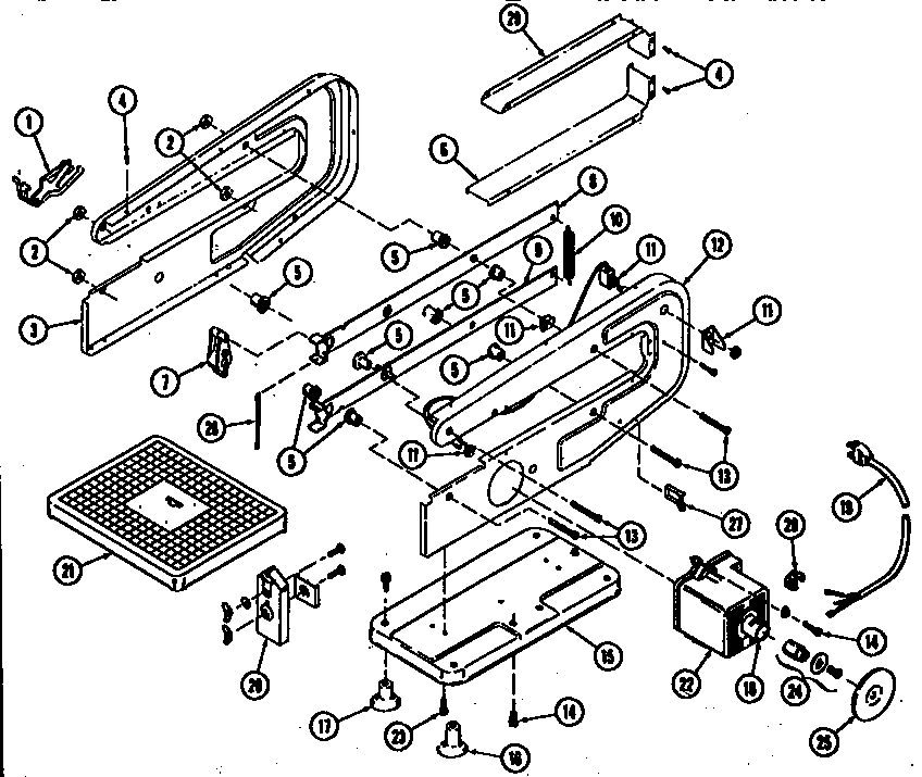 Dremel model 571-5 saw scroll genuine parts