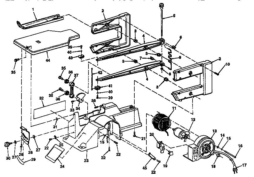 Craftsman model 113235501 saw scroll genuine parts