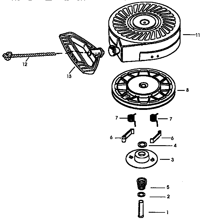 Tecumseh model HSSK50-67259R engine genuine parts