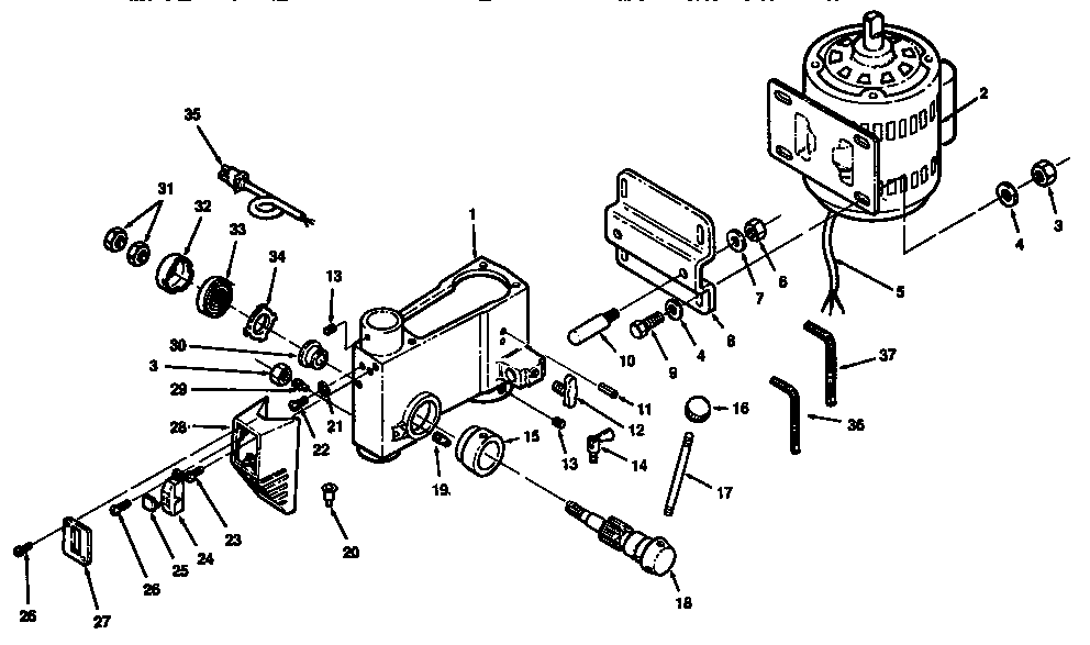 Craftsman model 113213092 drill press genuine parts