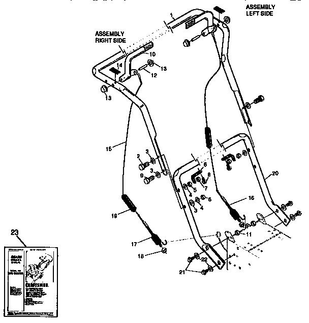 Craftsman model 536886280 snowthrower, gas genuine parts