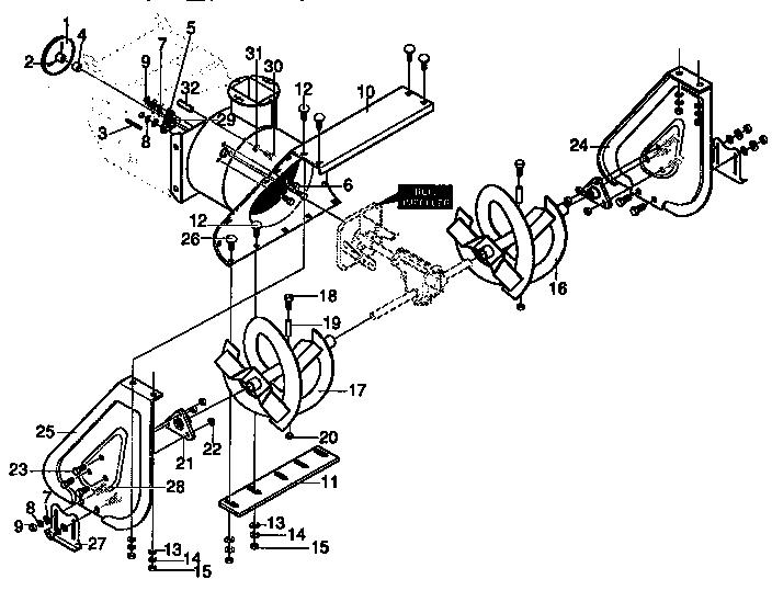 Craftsman model 536886120 snowthrower, gas genuine parts