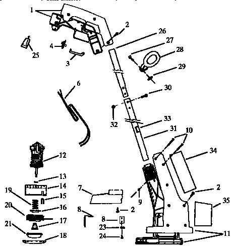 Craftsman model 74205 line trimmer/weedwacker/brushwacker