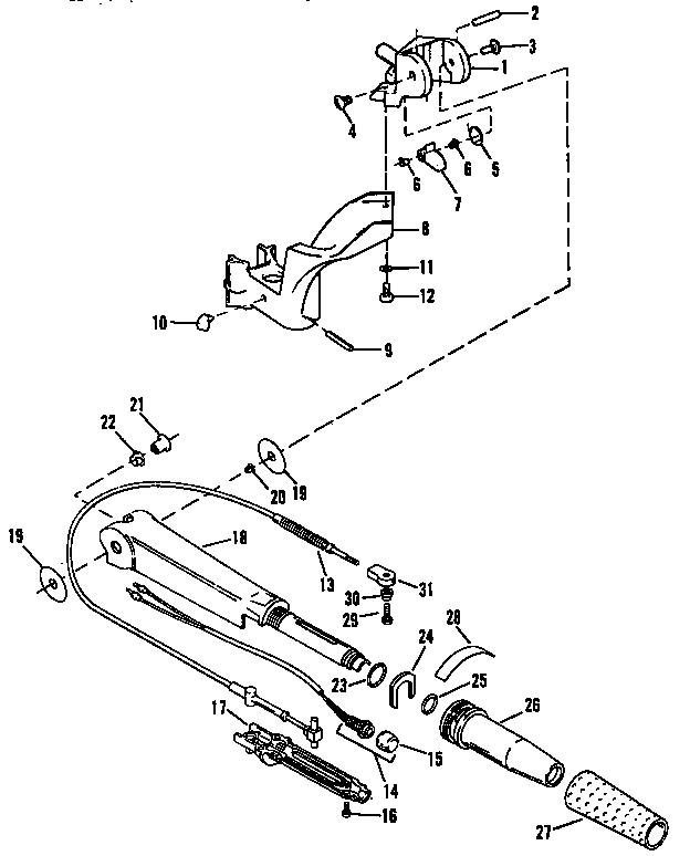Craftsman model 225581507 boat motor gas genuine parts