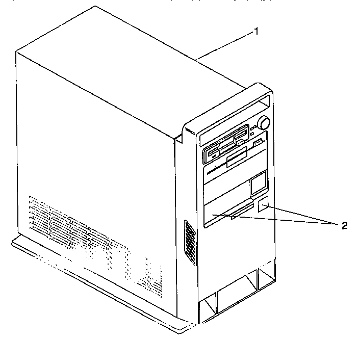 Ibm model PS1-2155A computer genuine parts