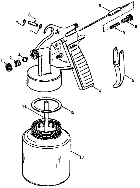 Craftsman model 919155100 power sprayer genuine parts