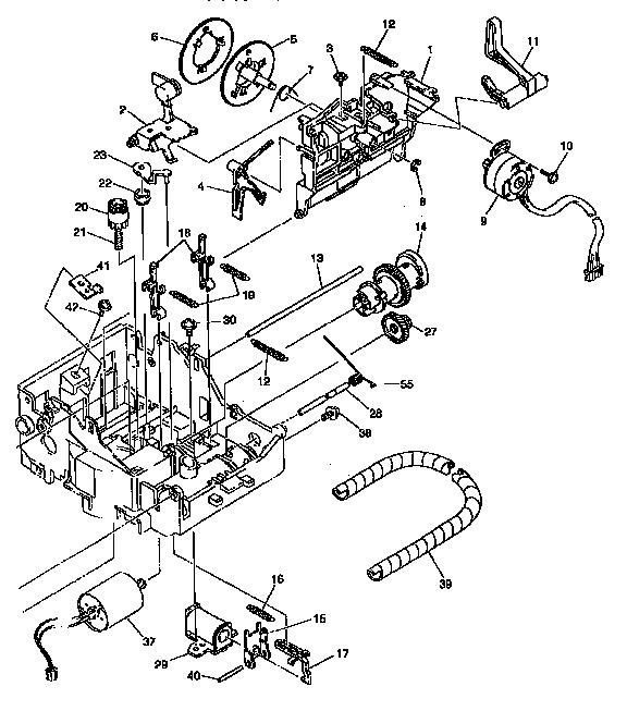 Brother model GX-6750 typewriter / word processor genuine