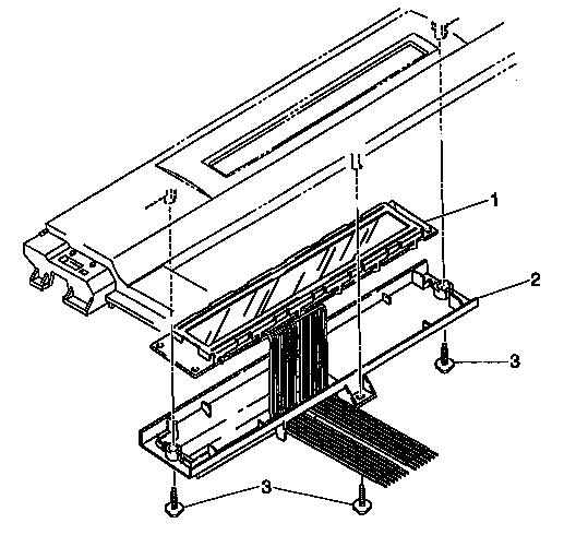 Brother model GX-9750 typewriter genuine parts