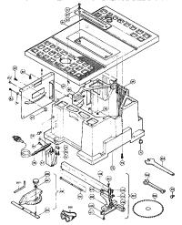 Makita model 2708 saw table genuine parts