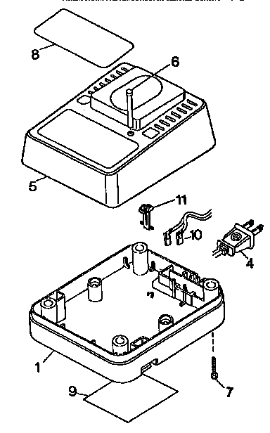 Dewalt model DW9106 battery charger genuine parts