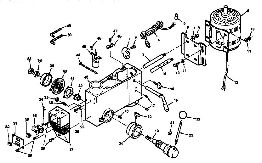 Craftsman model 113213151 drill press genuine parts