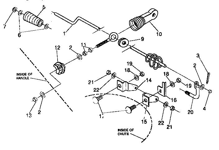 Craftsman model 536885470 snowthrower, gas genuine parts