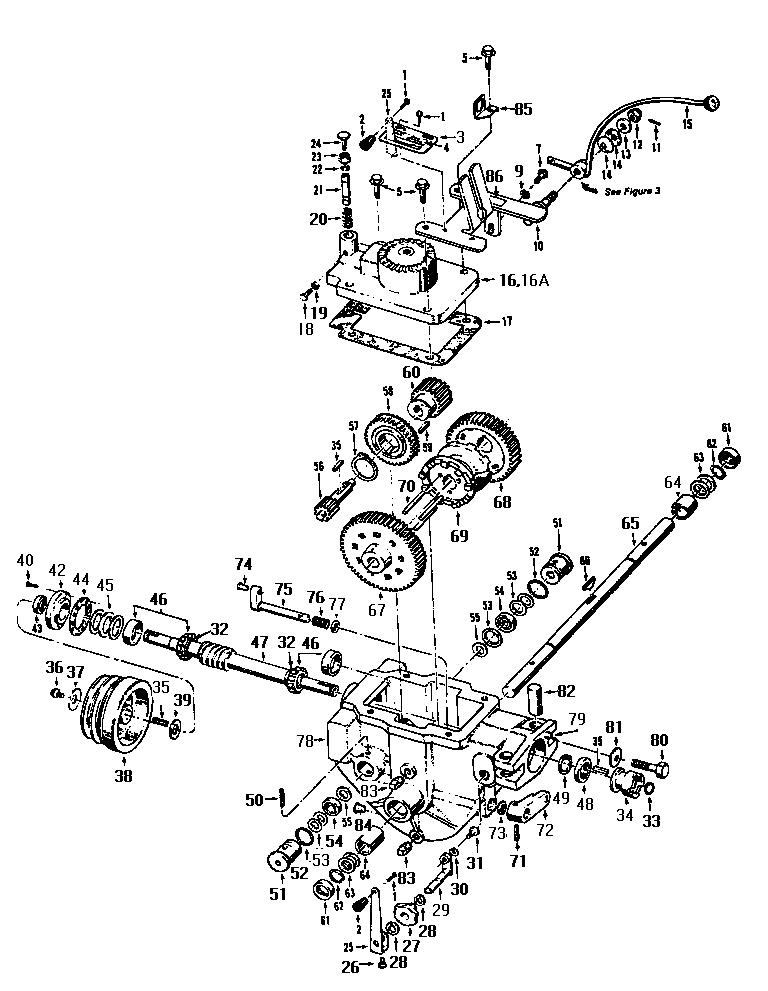 Troybilt model 12069 rear tine, gas tiller genuine parts